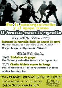 II Jornadas contra la represión