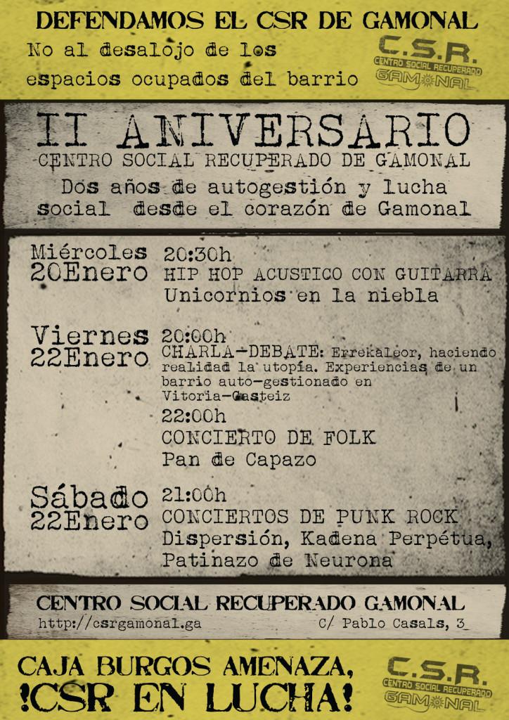 cartel aniversario