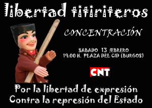 CONCENTRACIÓN LIBERTAD TITIRITEROS